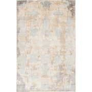 Chandra Rugs Vingel Hand-Knotted Beige Area Rug