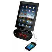 DOK CR09 Universal Dual Charger with Alarm Clock And Cradle