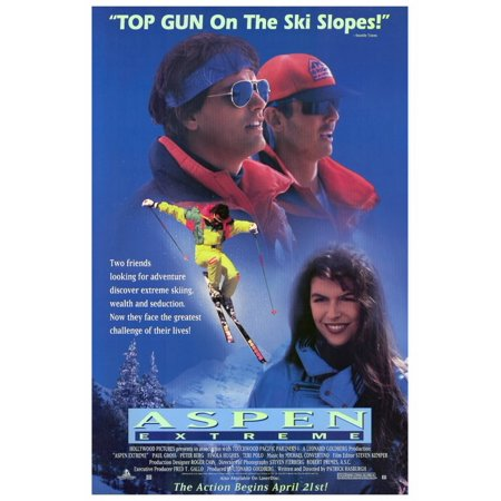 Aspen Extreme (1993) 27x40 Movie Poster (Aspen Vintage Poster)