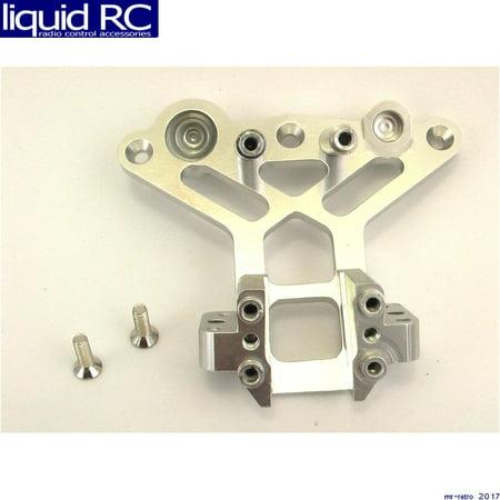 Alum Front Bulkhead - Hot Racing GTT12A08 Silver Alum. Front Bulkhead Gt2