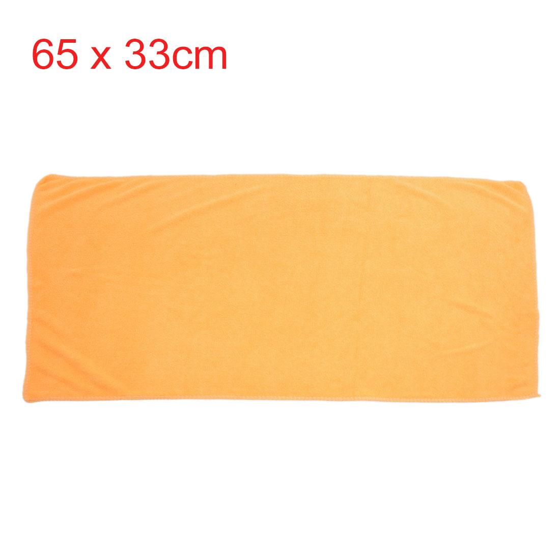 2pcs 65 x 33cm 250GSM Microfiber Towel Clean Cloths for Car Washing Blue Yellow - image 3 of 5