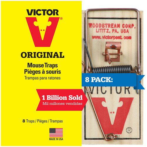 Victor Original Mouse Traps, 8 count