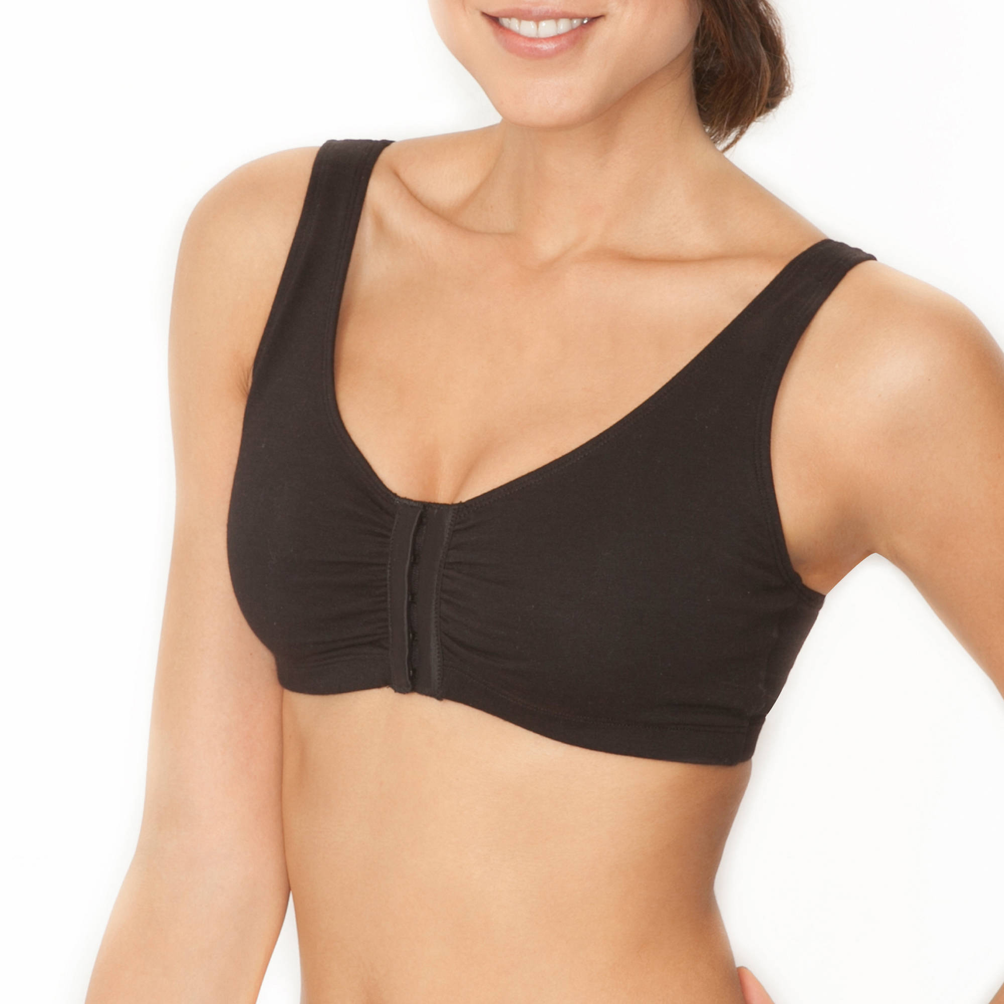 Fruit of the Loom - Comfort Front-Close Sports Bra, Style 96014