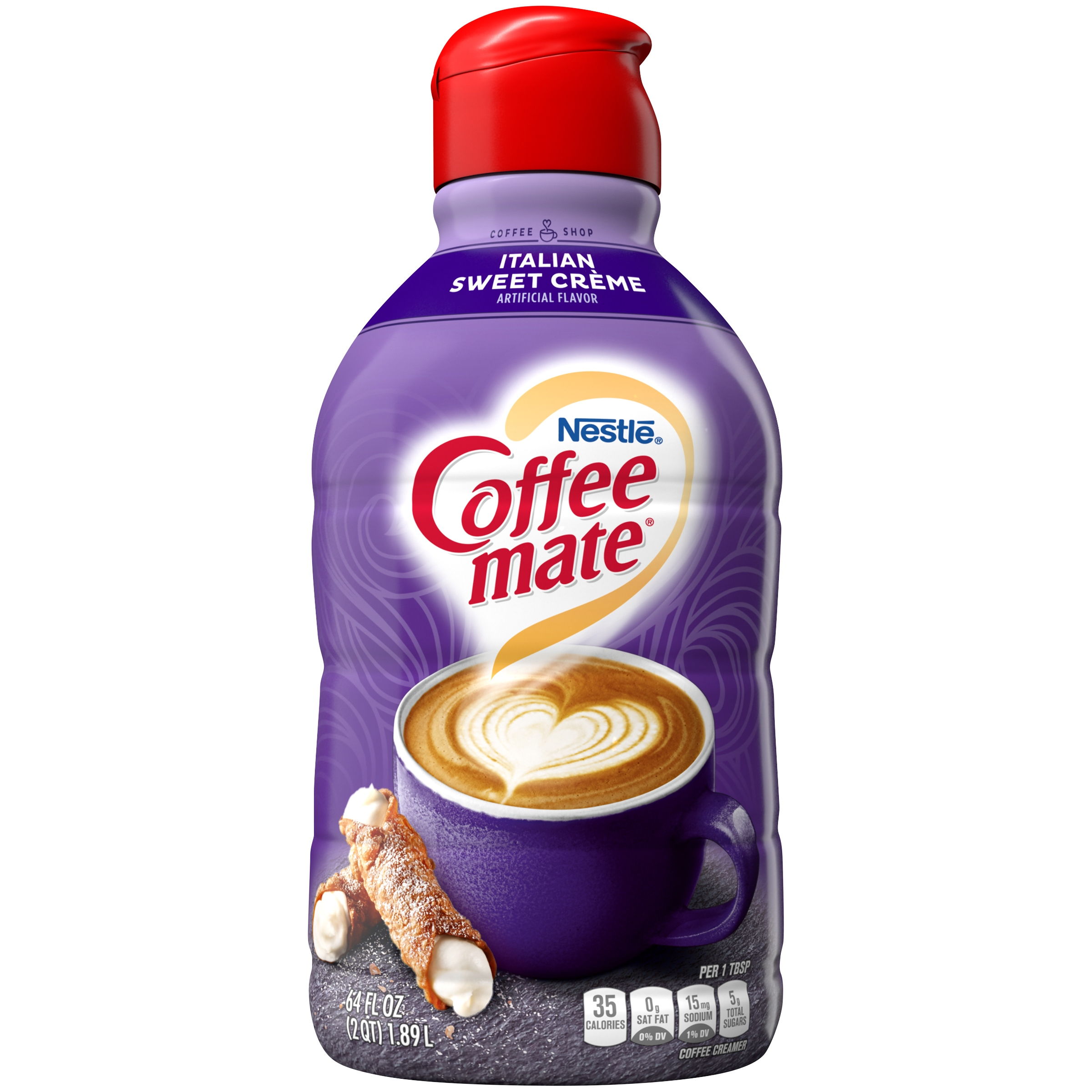 COFFEE MATE Italian Sweet Creme Liquid Coffee Creamer 64 ...