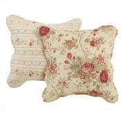 Global Trends Antique Rose Decorative Pillow Set