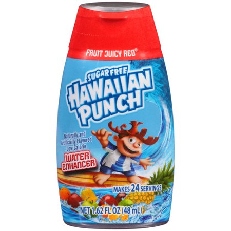 Hawaiian Punch Fruit Juicy Red Liquid Water Enhancer, 1.62 fl oz