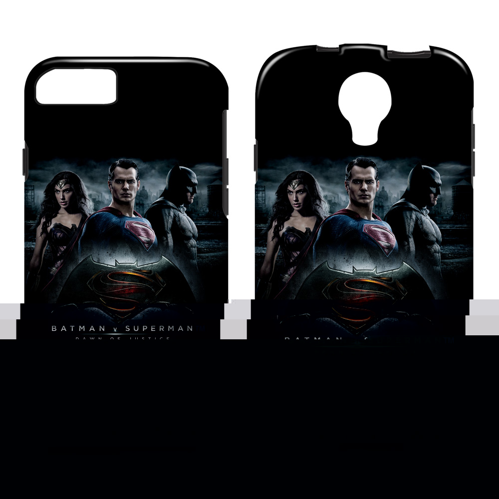 Batman V Superman Justice Colleagues Smartphone Case Tough Vibe (Iphone 6S) White Ip6S