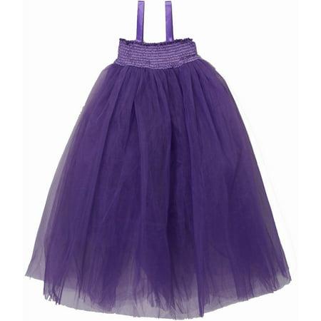 Wenchoice Purple Sheer Fairy Long Dress Girl's - Long Fairy Dresses
