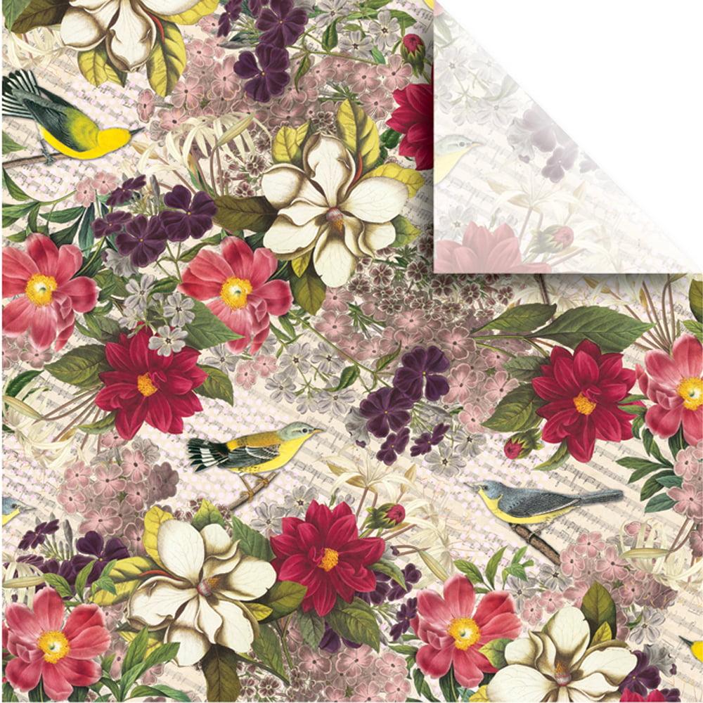 "Jillson & Roberts Printed Gift Tissue 20"" x 30"", Botanic (240 Sheets)"