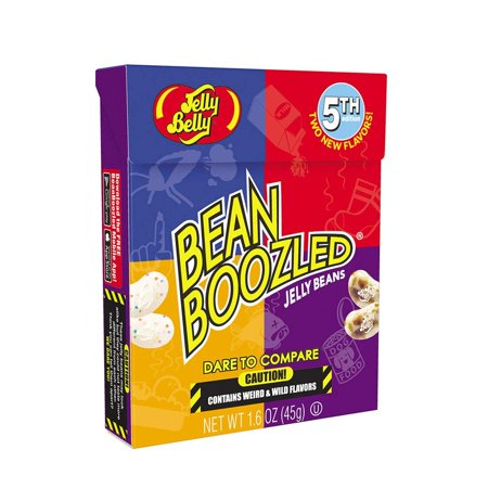 Jelly Belly BeanBoozled Jelly Beans 5th Edition NEW Flavors Stinky Socks 1.6 oz ()