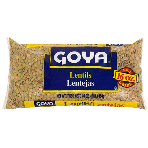 Goya Lentils, 16 oz (Pack of 24)