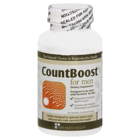 CountBoost for Men Fertility Supplement: Support Sperm