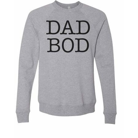 "de1eedbb Funny Threadz - Mens Dream Sweatshirt Designer Soft ""Dad Bod"" Extremely  Soft Long Sleeve Sweater X-Large, Premium Grey - Walmart.com"
