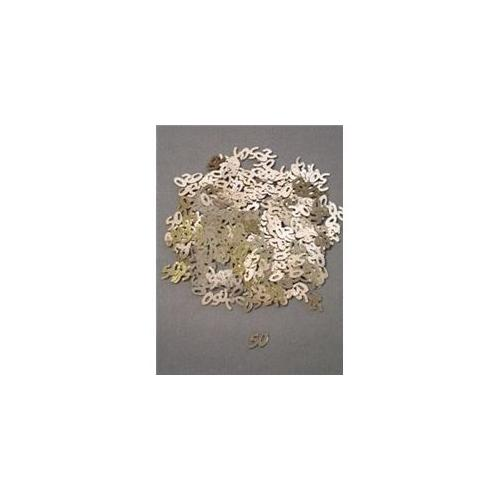 Party Deco 04053 10mm Gold 50 Confetti - Pack of 12