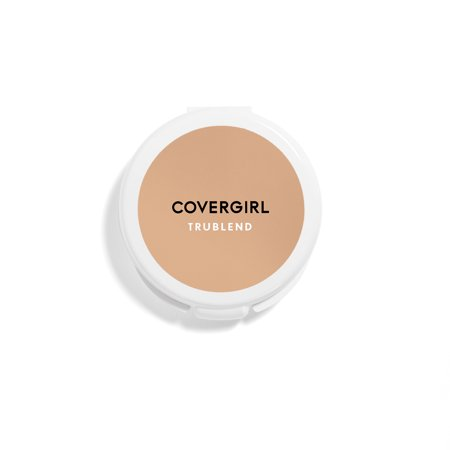 Natural Perfecting Powder Foundation - COVERGIRL TruBlend Pressed Powder Foundation, Translucent Medium