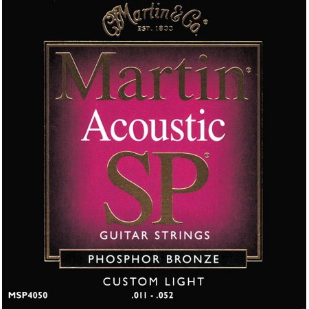 Martin Msp4050 Sp Phosphor Bronze Custom Light Acoustic