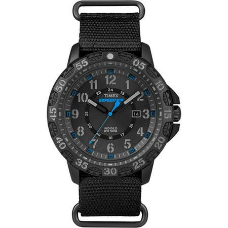 Timex Mens Expedition Gallatin Nylon Slip-Thru Strap Watches