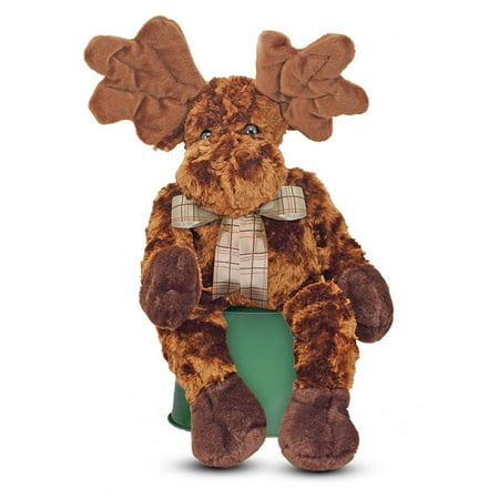 Melissa & Doug Maximillian Moose Stuffed Animal (nearly 2 feet tall)