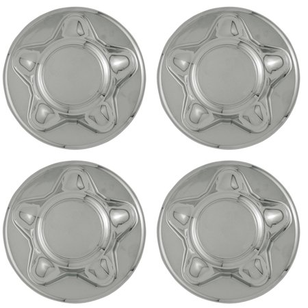 OxGord Center Caps for Select Ford Lincoln Trucks Van SUV Chrome (Set of 4) 16 and 17 inch Wheel (Suv Alloy Wheels)