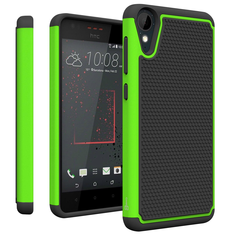 super popular dffc5 27023 CoverON HTC Desire 825 Case, HexaGuard Series Hard Phone Cover