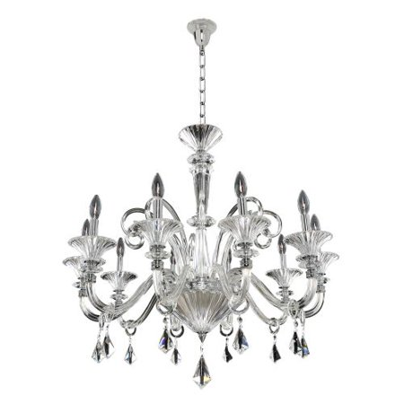 Image of Allegri 026952 Chauvet 10 Light 1 Tier Chandelier
