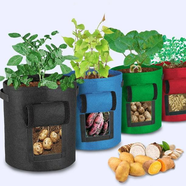 1 2 4pcs Garden Sweet Potato Planting Bag Grow Plant