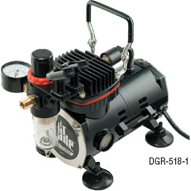 Itw Devilbiss DV803286 Air Brush Compressor -DGR-518-1