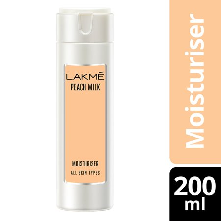 Lakme Peach Milk Moisturizer Body Lotion 200 ml 200 Ml Body Cream