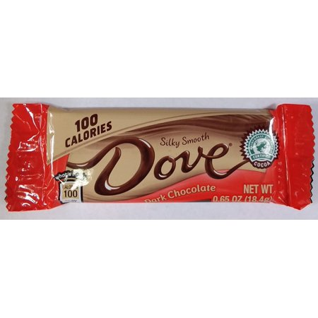 Mars North America Dove 100 Calories Dark Chocolate, 0.65 oz