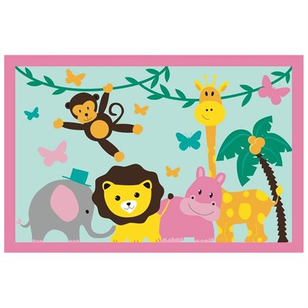Jungle Party Area Rug
