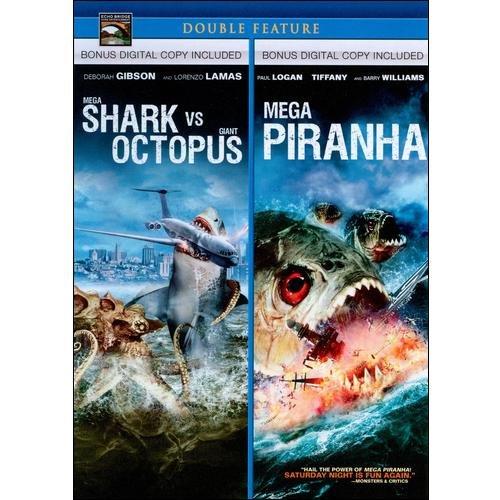 Mega Shark Vs. Giant Octopus / Mega Piranha (Double Feature) (Widescreen)