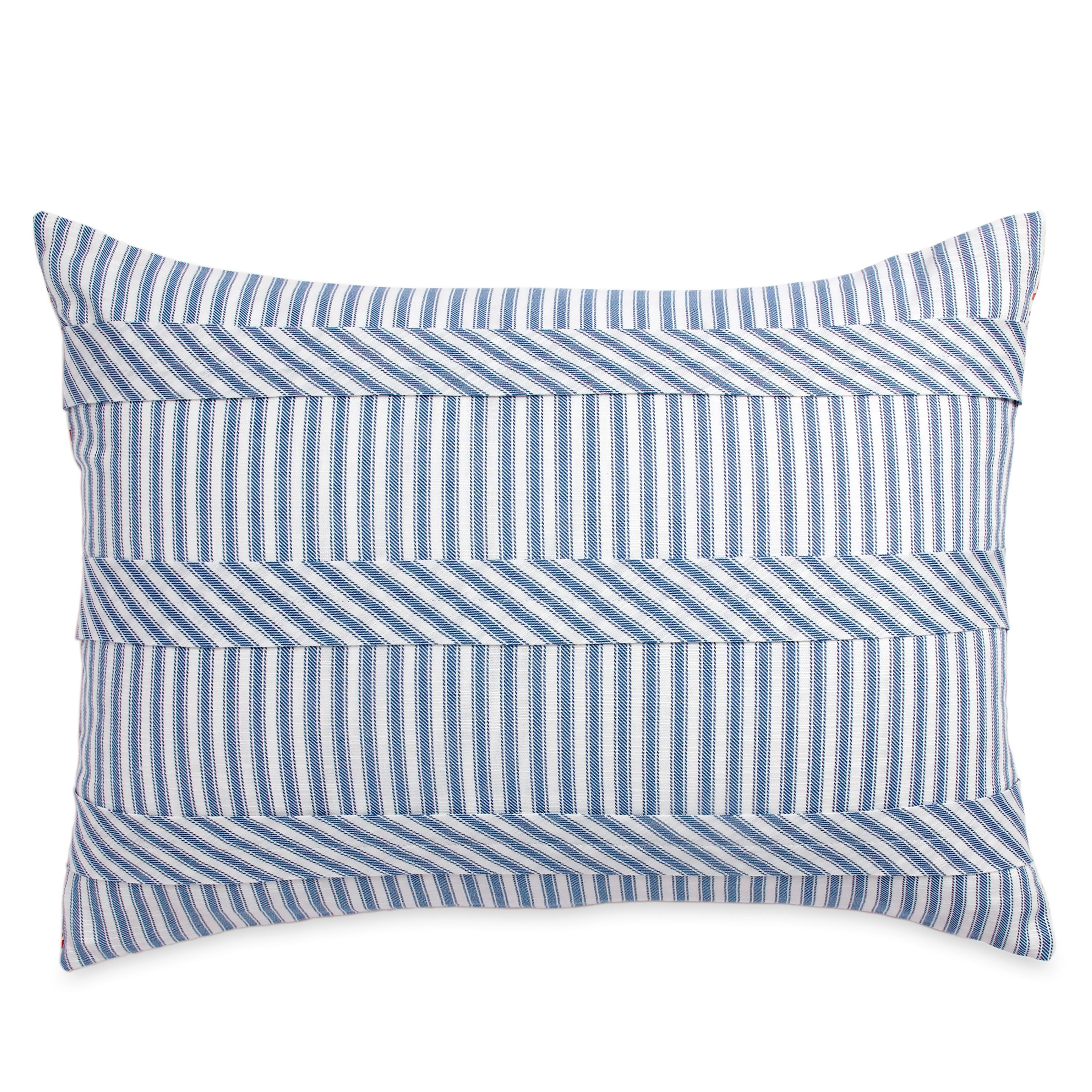The Pioneer Woman Ticking Stripe Sham Set, Blue