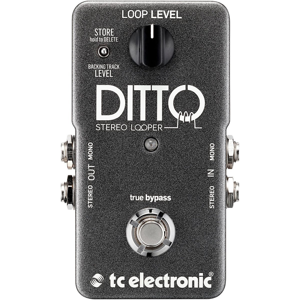 TC Electronic Ditto Stereo Looper Pedal by TC Electronics
