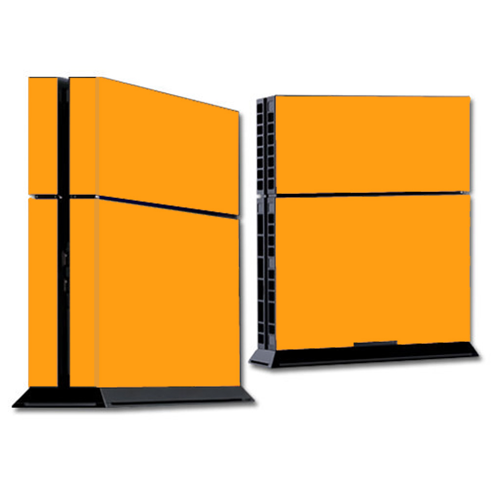 Skins Decals For Ps4 Playstation 4 Console / Solid Orange
