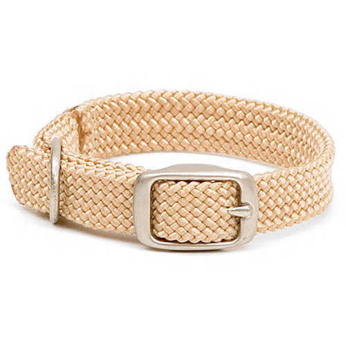 """320273 Double, Braid Collar, 1""""W up to 18"""", Sand"""