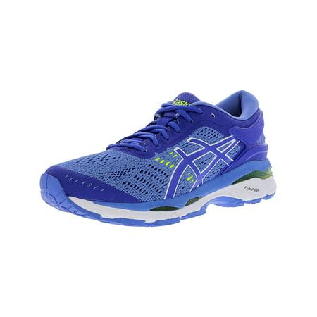 Asics Women's Gel-Kayano 24 Blue Purple / Regatta White Ankle-High Running Shoe - 9.5WW ()