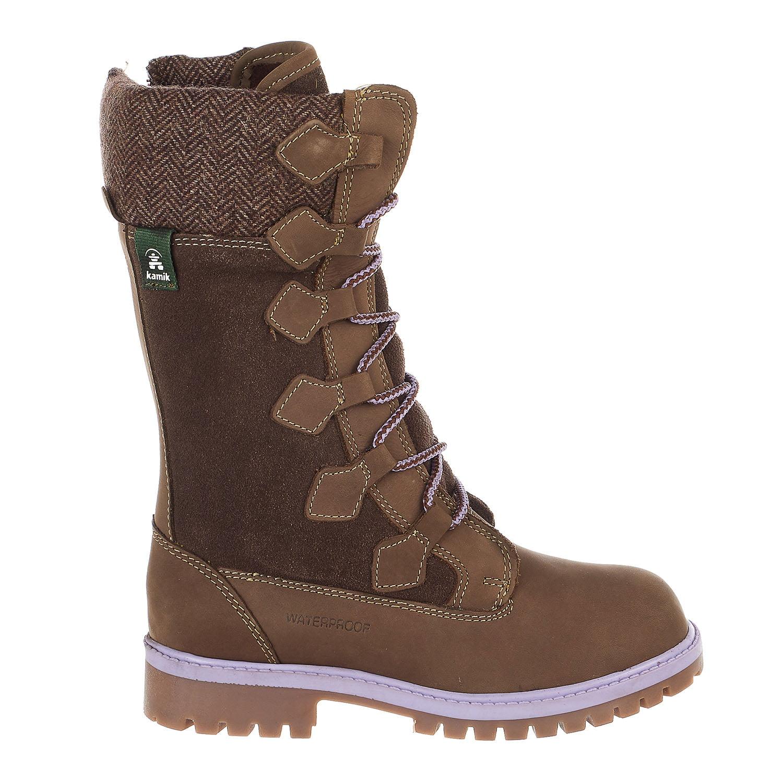 Takoda Zipper Hiking Boots - Brown