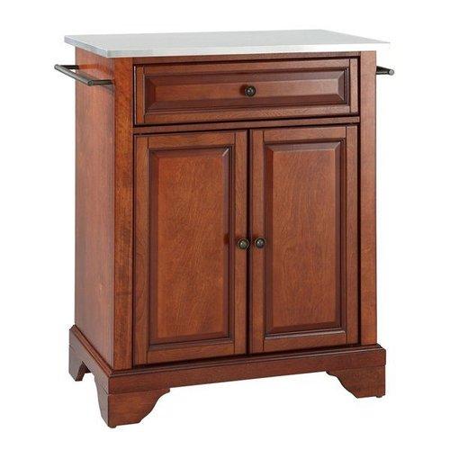 crosley furniture kf3002 lafayette portable kitchen island