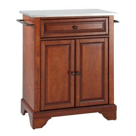 Crosley furniture kf3002 lafayette portable kitchen island for W furniture lafayette la