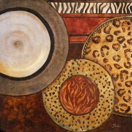 African Circles II Poster Print by Patricia Pinto