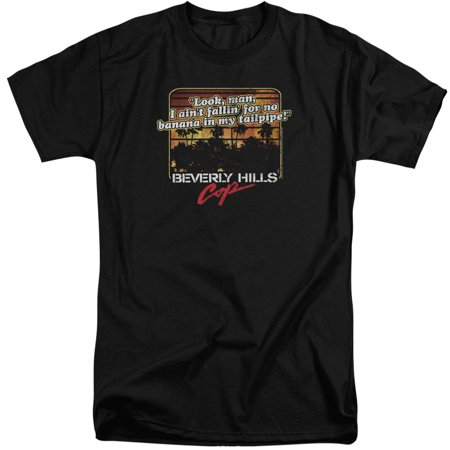 Beverly Hills Cop Banana In My Tailpipe Mens Big And Tall Shirt
