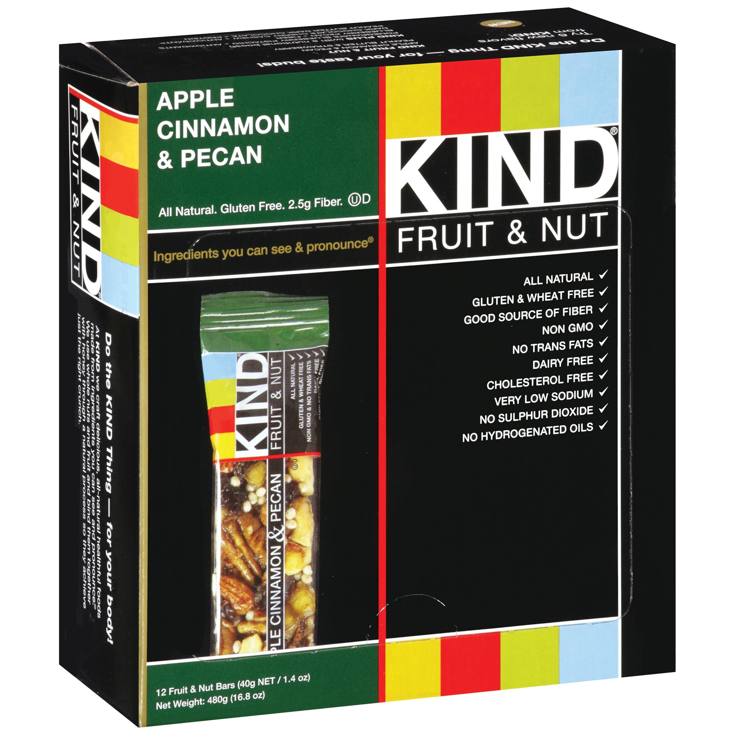 KIND�� Apple Cinnamon & Pecan 12-1.4 oz. Bars