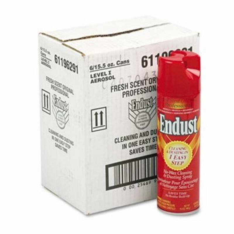 Endust.  96291EA Professional Cleaning and Dusting Spray, 15oz Aerosol