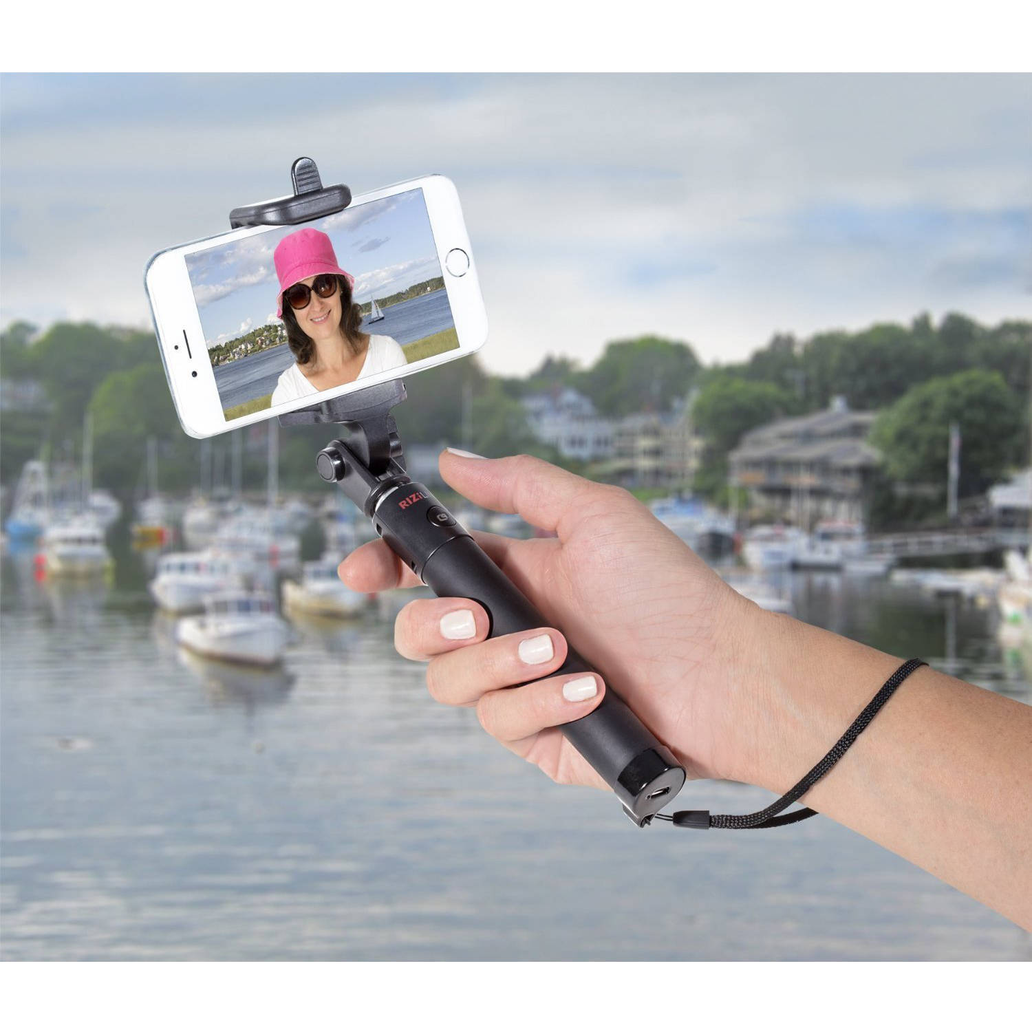 Rizilink MP900 Ultra-Compact\/Expandable Bluetooth Selfie Stick