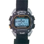 Watch Mens Sport W/Velcro Strp, PartNo 40/6623BLK, by Egluck Corportation, Clock