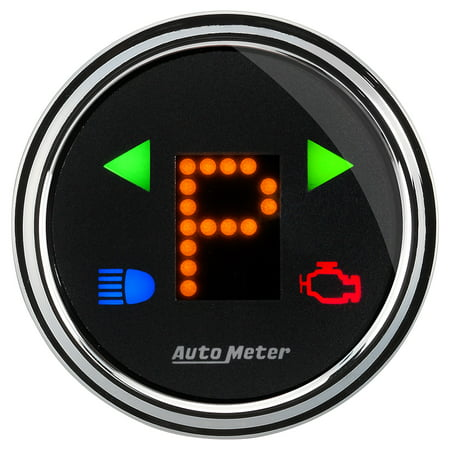 Gear Shift Indicator Bezel - Auto Meter (1460) 2-1/16