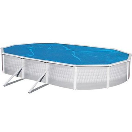 Solar Cover 15 39 X 30 39 Oval Above Ground Swimming Pool 3 Year Warranty