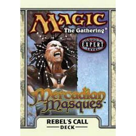 MtG Mercadian Masques Rebel's Call Theme Deck