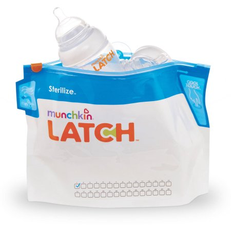 (2 Pack) Munchkin LATCH Sterilize Bags, 6-Pack