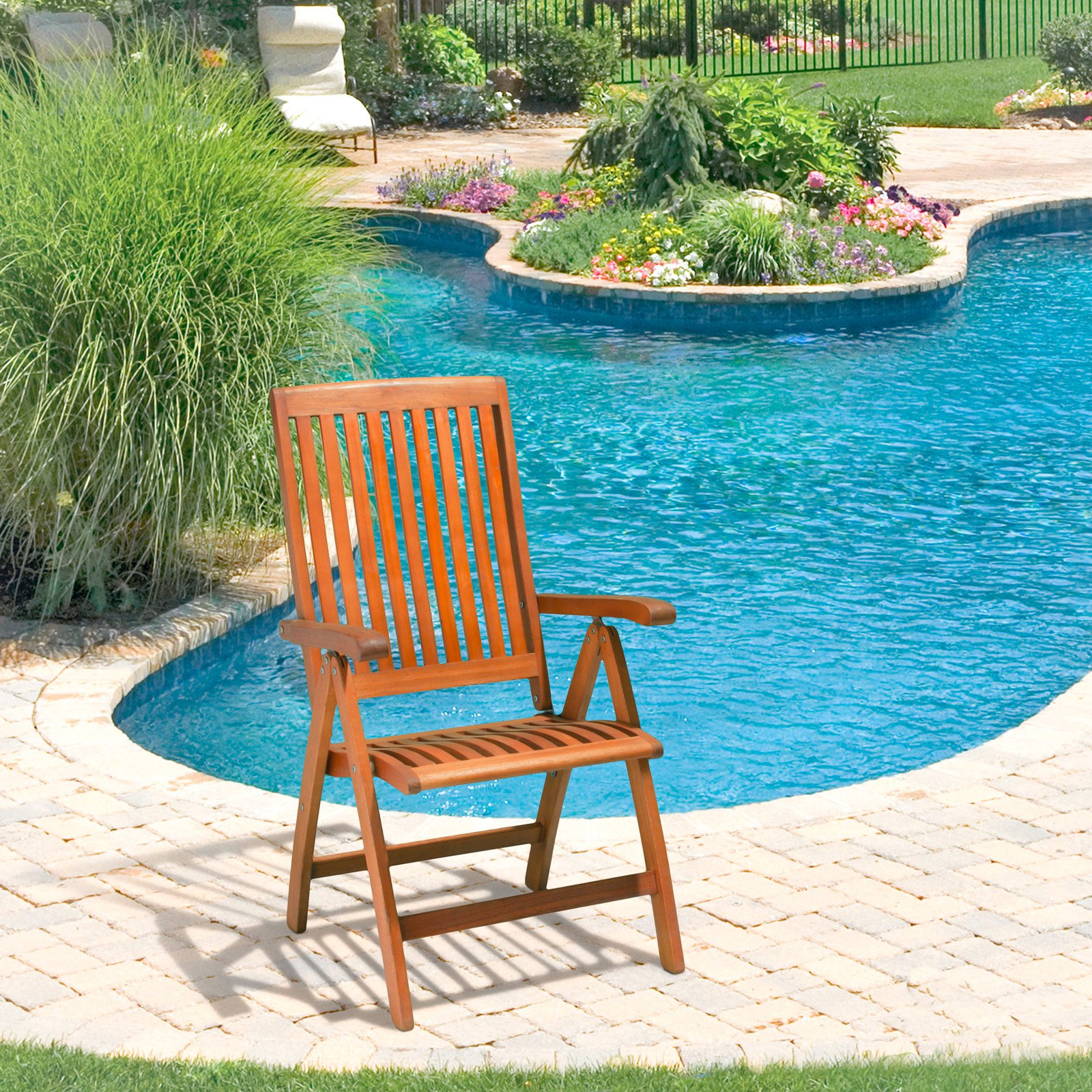 Winslow Hard Wood Outdoor Dining Chair